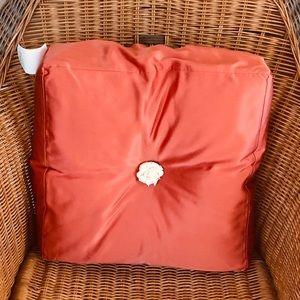 Ann Gish Band Box Silk Pillow - NWT